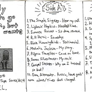 feat. the first side of an amazing Gospel comp. from Mississipi Records, Dylan, Satie and Bill Evans