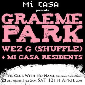 Wez G - Park It In The Club With No Name
