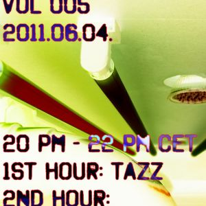 EgrooveFM Indigo Radio Show vol. 005 Guest mix TAZZ 1st hour