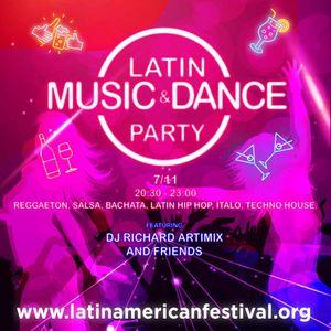 2020-11-02b Latin Dance Party Opening Reggaeton Mix 1 of 4
