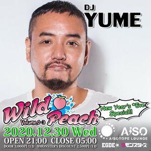 DJ YUME Live at Wild Peach vol.0-3 12/30/2020 NYE Special