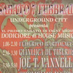 Joe T. Vannelli d.j. Underground City (Pe) 12orenostop 07 02 1998