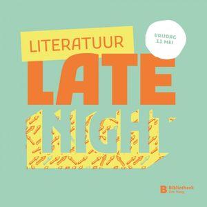 Erik Jan Harmens - Literatuur Late Night