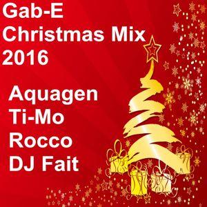 Gab-E - Christmas Mix 2016 (2016)