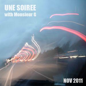 Une Soirée with Monsieur G #November 2011#