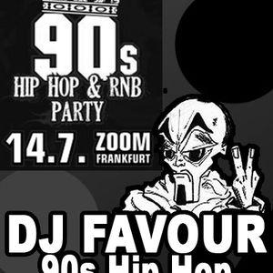 WarmUp Mix1 - Sa. 14.07.12 90s Hip-Hop&RnB at ZOOM Club, FfM.