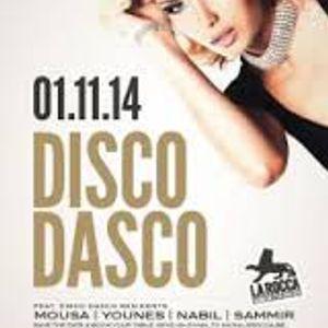 dj Younes @ La Rocca - Disco Dasco 01-11-2014 p1