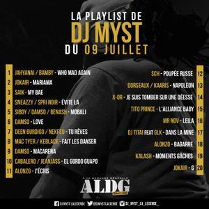 ALDGSHOW de DJ Myst La Légende sur GENERATIONS FM emission du 09 07 2017 Part III