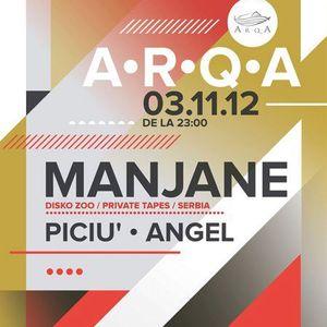 Manjane Live @ Arqa, Timisoara 03.11.2012 part1
