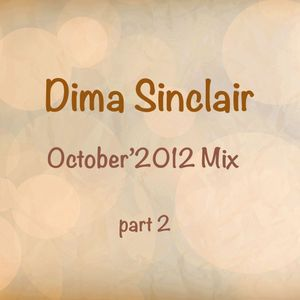 Dima Sinclair - Nu Disco October'2012 Mix PART 2