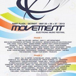 Silent Servant @ Movement Festival Detroit - Hart Plaza Day 3 (27-05-2013)