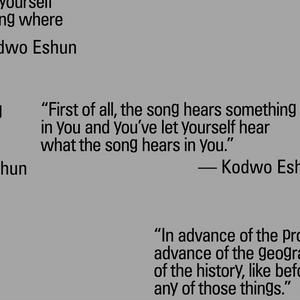 Talking heads #1: Amal Alhaag, Kodwo Eshun and Bonaventure Soh Bejeng Ndikung