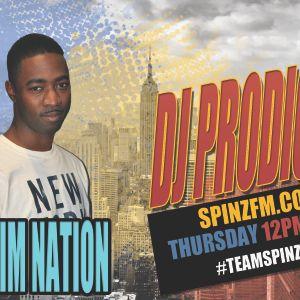 DJ PRODIGEE | RIDDIM NATION | THURSDAYS 12PM - 2PM