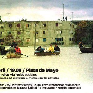 2015-04-2015│12 años de las Inundaciones de Santa Fe│Ezequiel Nievas- Periodista del Periódico Pausa