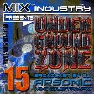 ► UNDERGRoUND ZoNE 15 [1998-2001] ► @ MIX INDUSTRY Radio