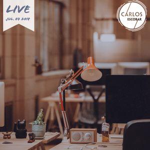 Carlos Escobar Live 07/07/2018