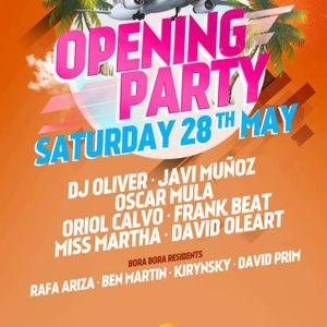 Frank Beat @ Opening Bora Bora Ibiza 2016