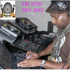 NIGEL B SHOW ON SUPREME FM (FRI 27TH DEC 2013)