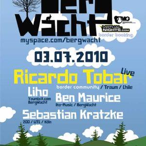 Ben Maurice @ BergWacht ARTheater Cologne 03.07.2010