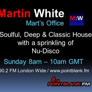 23.08.15 Martin White - Mart's Office Point Blank FM