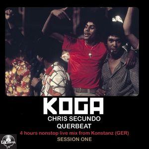 Live in Konstanz - Part 01 - Aug. 2014 - KOGA aka QUERBEAT (D) & CHRIS SECUNDO (A)