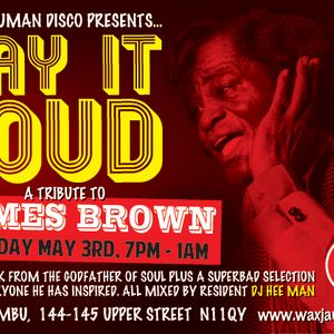 Super Human Disco - James Brown Tribute Night - May 3rd 2012