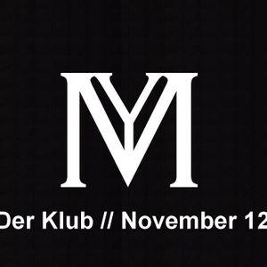 Ya'Mama-Der Klub // November 2012 // Radio Rüsselsheim