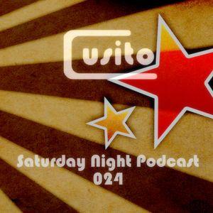 Cusito - Saturday Night Podcast 024 (16-06-2012)