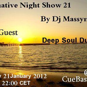Deep Soul Duo - Alternative Night Show 021 [21 - 01 - 2012] on CueBase Fm