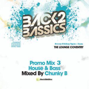 Back2BASSics Promo Mix 3 (House & Bass)