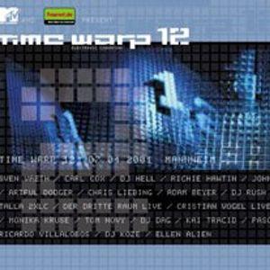 Cristian Vogel (Live PA) @ Timewarp 12 - Maimarkthalle Mannheim - 07.04.2001