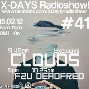 X-DAYS Radioshow! #41 - Clouds