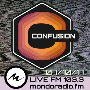 CONFUSION-ROMA  ON AIR FM103.3 MONDORADIO - ROMA 07_10_2017