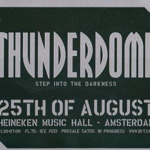 The Dj Producer & Simon Underground - Live at thunderdome (25-08-2001)