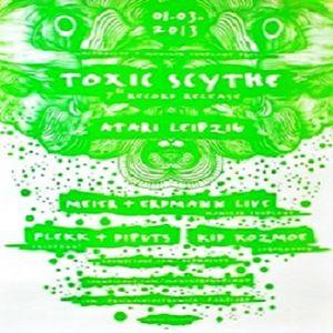 Flekk @ Toxic Skythe - Atari Leipzig - 01.03.2013