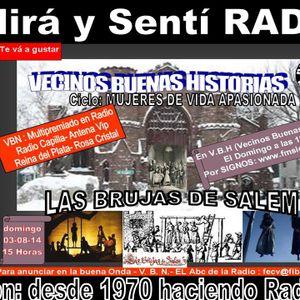 """GRABACION DEL PROGRAMA DE HOY DOMINGO """"LAS BRUJAS DE INGLATERRA SALEM"""" DE VECINOS BUENAS HISTORIAS"""