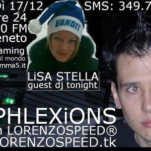 LORENZOSPEED present REPHLEXiONS with LiSA STELLA 17/12/2010