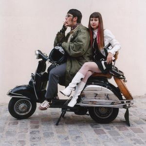 Here come the Mods! 60s beat and soul music.