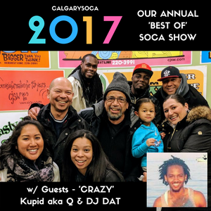 CalgarySoca's 'Best of 2017' Radio Show - Dec.30.2017