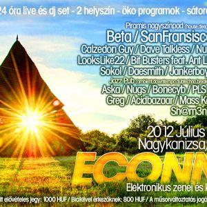 Calzedon Guy - Live @ Econnect Fesztivál, Cserfő - Nagykanizsa (2012-07-07)