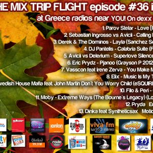 The Mix Trip Flight 36 by DJ Kirk Carpenter