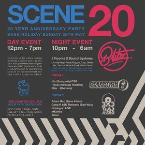 DJ Simm - Scene 20th Birthday Party Promo Mix