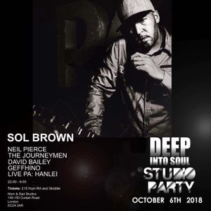 Sol Brown - Deep Into Soul Promo Mix