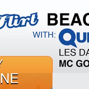 Beach flirt at Starbeach Les Davis B2B Jason Tsanga live set 07.06.12