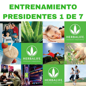 Entrenamiento Presidentes Herbalife 1 de 7