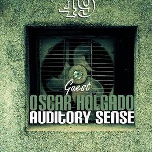 Oscar Holgado Guest Auditory Sense 049 @ InsomniaFm - June 2013