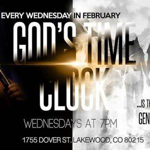 "Pastor Tom Vasquez: ""God's Time Clock"" Series Part 2 (02.10.16)"