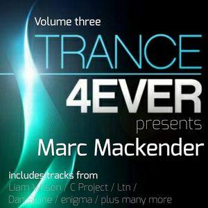 "Marc Mackender ""trance 4ever mix"" vol 3"