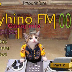 Vyhino FM podcast 0011 garaj mix teha-poteha part 2 Smookie, Di Wonder, Panicbot, Cheer, (3 track pe