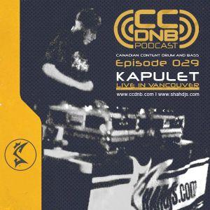 CCDNB 029 Kapulet Live in Vancouver